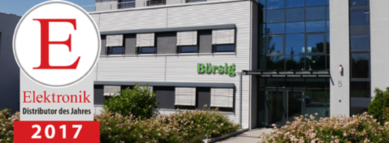 "Börsig was voted ""Distributor of the year 2017"""
