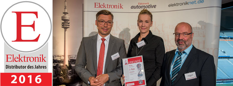 "Good results for Börsig ""Distributor of the year 2016"""