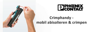 Phoenix Contact Crimphandy - mobil abisolieren & crimpen