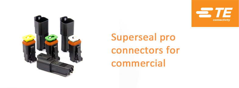 Superseal Pro connectors for commercial vehicles